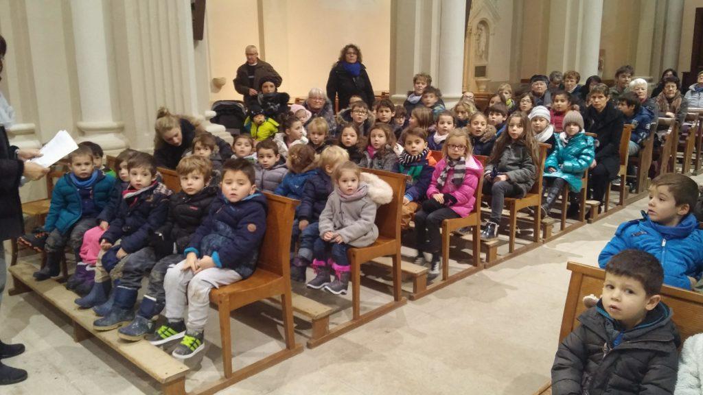 Chants et textes de Noël pour annoncer la naissance de Jésus - Ecole privée de Oytier
